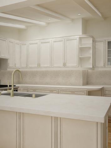 134 Scorecliff rd Kitchen rendering Opt