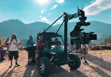 Polaris RZR and MoVI XL standing by