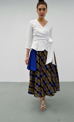 Blue Bell A Line Pleated Skirt