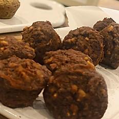 Glutensiz, Şekersiz Havuçlu Mini Kekler (200g)