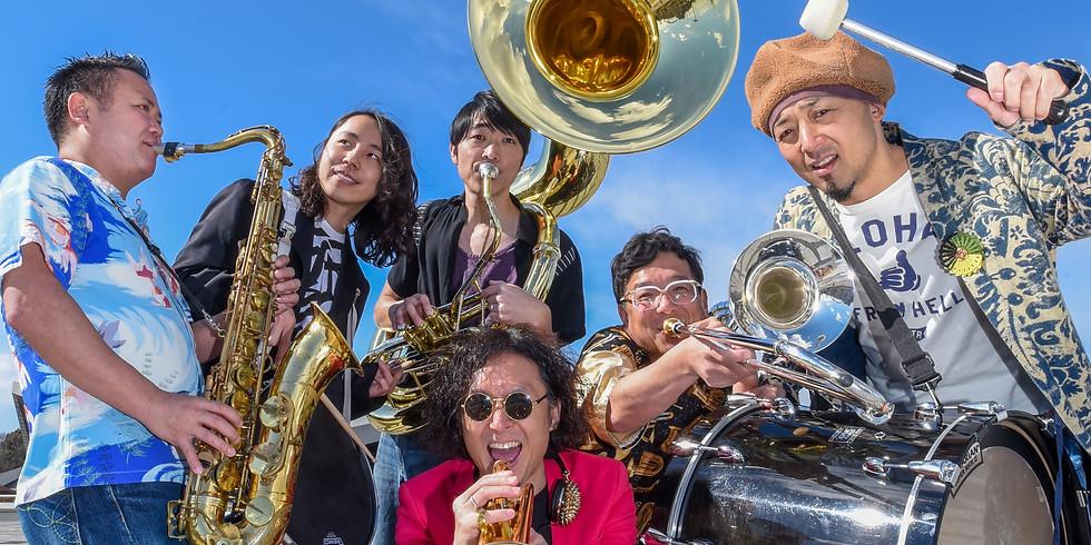 Black Bottom Brass Band アコースティックライブ at BYG