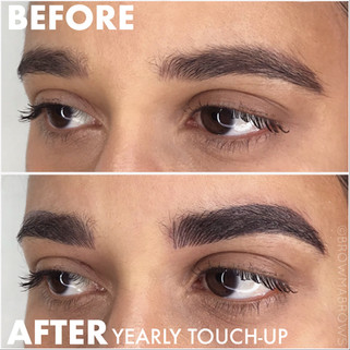 Thick Black Brow Microblading Fort Collins