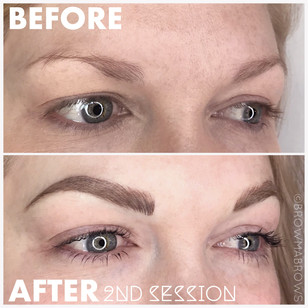 Arch Addict Microblading Results