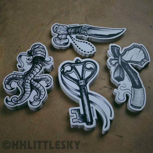 Tools & Totems Sticker Pack
