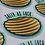 Thumbnail: Food Pun Sticker Pack