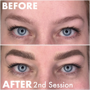 Thick Brow Microblading Browma Fort Collins