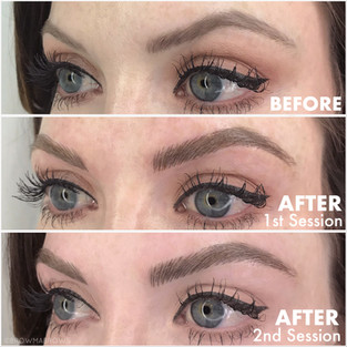 After 2ns Session Browma Microblading