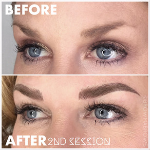 Second Session Microblading Session
