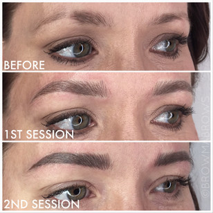 2nd Session Microblading Fort Collins Browma