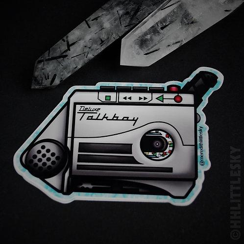Deluxe Talkboy Sticker