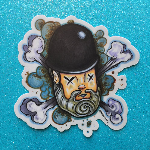 Crossbones Sticker
