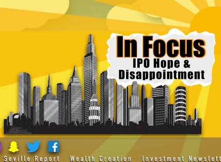 In Focus: IPO Hope and Disappointment