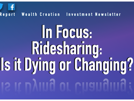In Focus: Ride-sharing: Is it Dying or Changing?