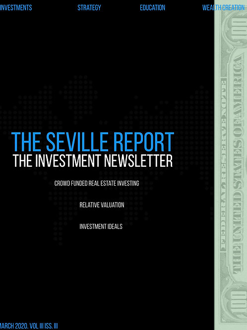 The Seville Report Vol. III Iss. III