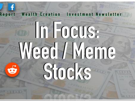 In Focus: Weed/Meme Stocks