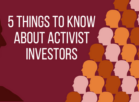 5 Things to Know About Activist Investors