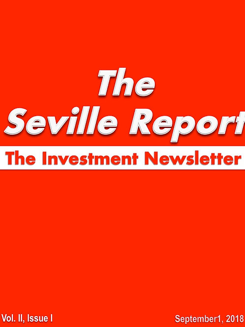 The Seville Report Vol II Issue I