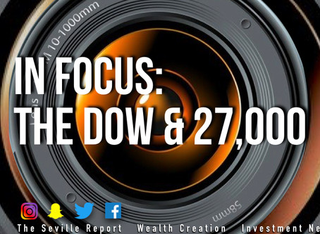 In Focus: Dow & 27,000