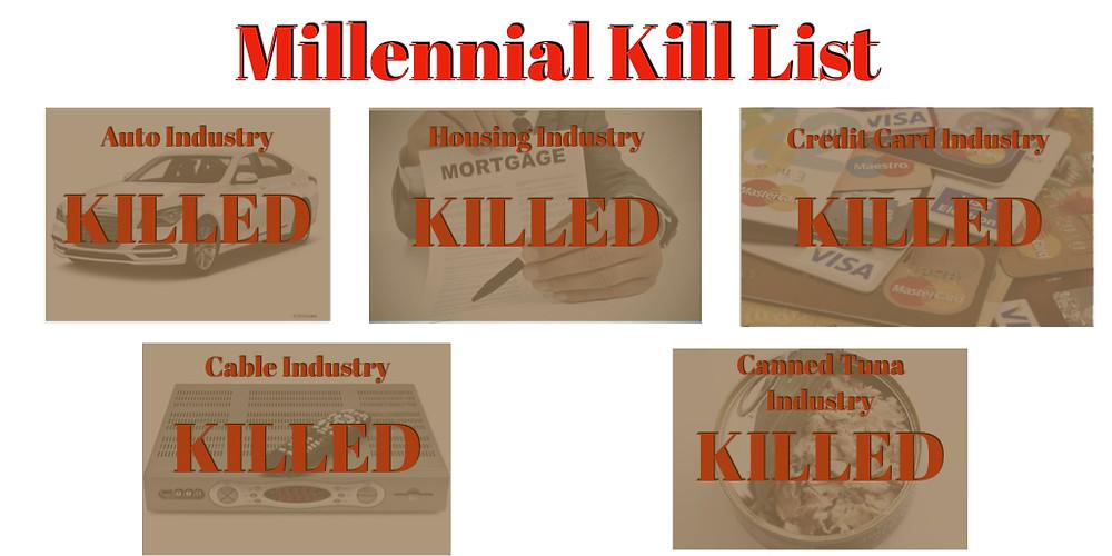 Millennial Kill List