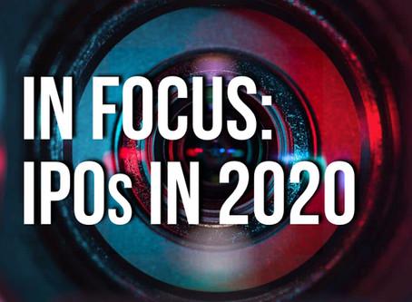 In Focus: IPOs 2020