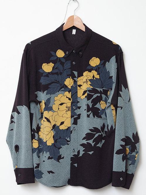 芍薬men'sシャツ