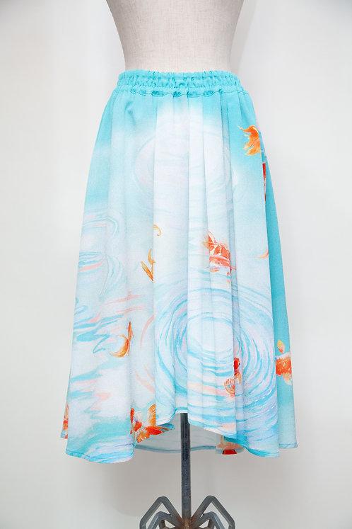 金魚フレアスカート