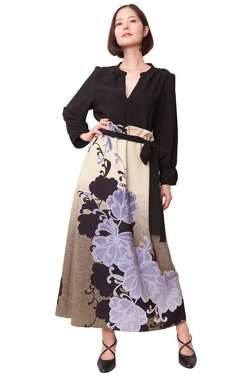 鹿子花ロングスカート