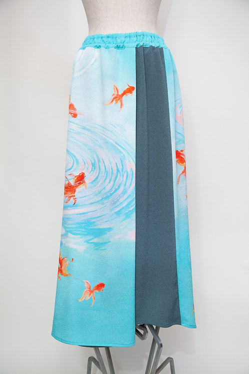 金魚ロングスカート
