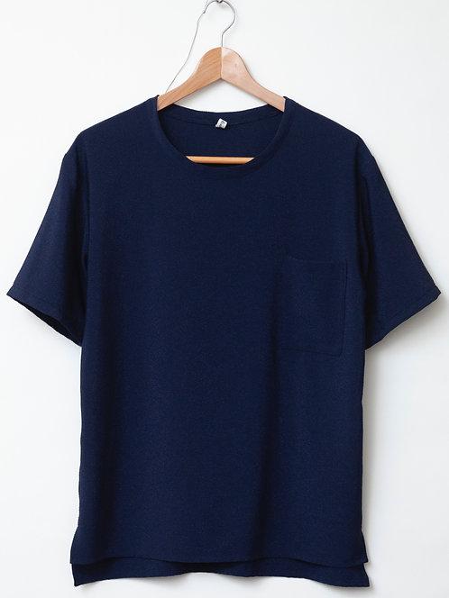 men's丸首Tシャツ