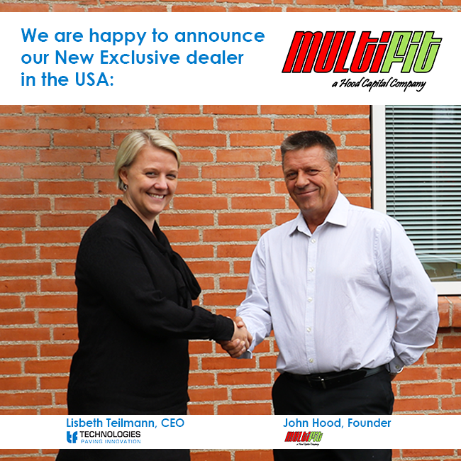 MultiFit Exclusive Distribution with TF Technologies for USA