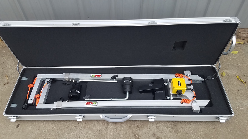 Commercial Ski in Multifit Case