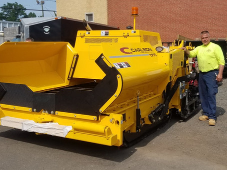 Stanziale adds Carlson CP75 with Mini Line Grade Controls to fleet.