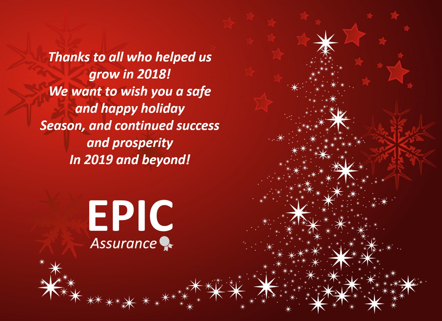 Happy Holidays And Thanks To All >> Happy Holidays Extended Warranty United States Epic Assurance
