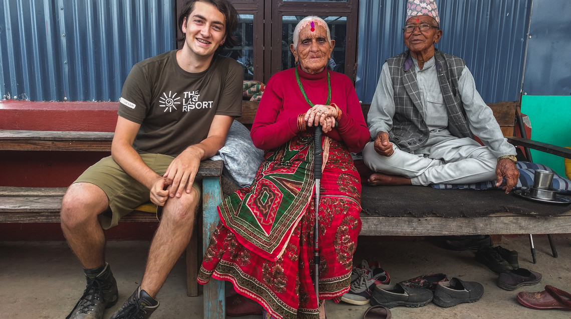 Photo of me with the Nepalese