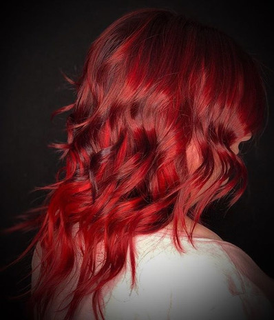 Nothing like a vivid red to get us right