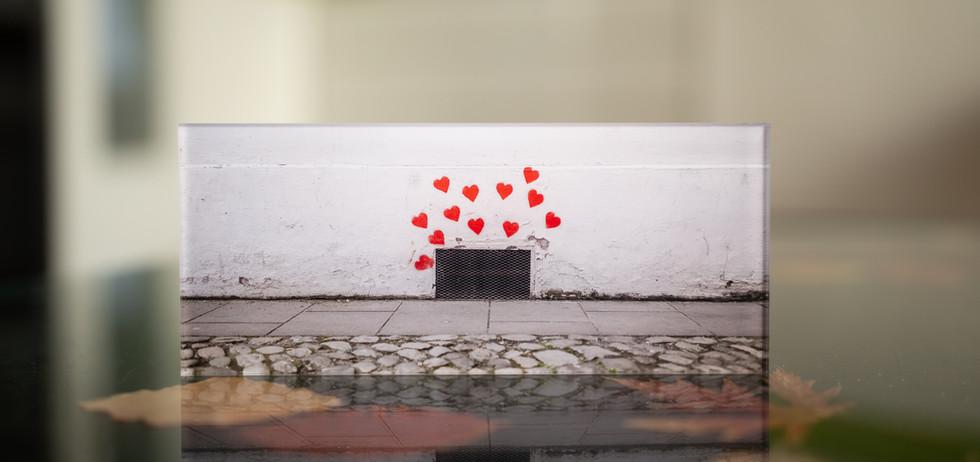 STREETHEARTS Echter Fotoabzug   hinter 4mm Acrylglas   auf 2mm AluDibond   inkl. Aufhängung von Alexander Kästel
