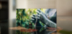 DIE JUNGE FLÖTENSPIELERIN - Echter Fotoabzug   hinter 4mm Acrylglas   auf 2mm AluDibond   inkl. Aufhängung von Alexander Kästel