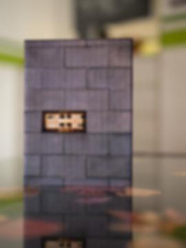 NEUE SYNAGOGE DRESDEN - Echter Fotoabzug   hinter 4mm Acrylglas   auf 2mm AluDibond   inkl. Aufhängung von Alexander Kästel