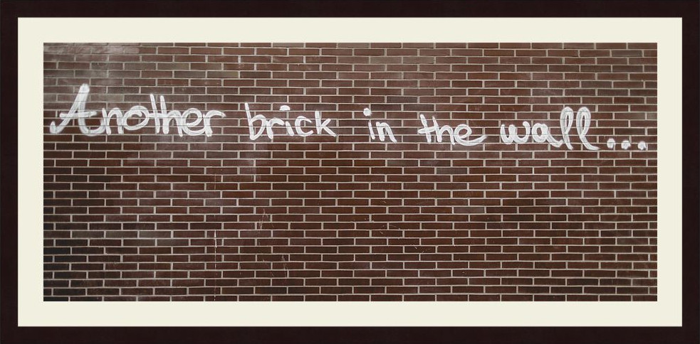 ANOTHER BRICK ...