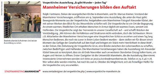 ES GIBT WUNDER - Stadtmarketing - News.j