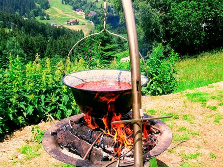 Uvařte si pravý horský guláš :)