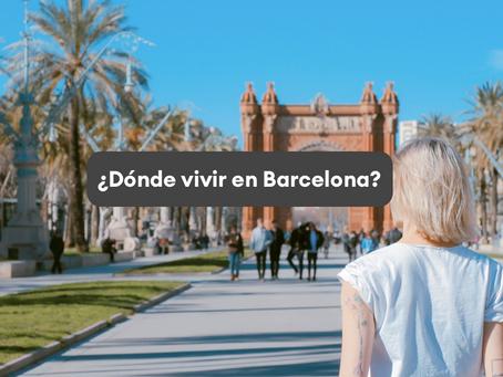 Los 7 mejores barrios para vivir en Barcelona 📍 según lo que busques!