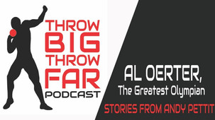 "Listen to the Throw BIG Throw FAR Podcast as I talk about ""Al Oerter: Back to Olympus"""