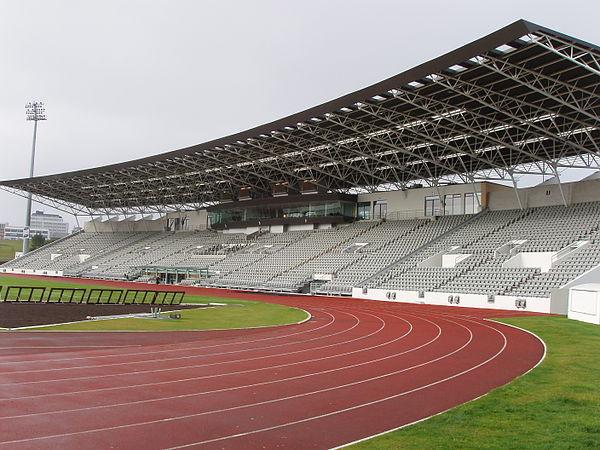 Laugardalsvöllur stadium, Reykjavik, Iceland