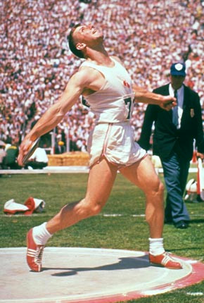 Inspirational Al Oerter Discus Throw (1960 U.S. Olympic Trials, Stanford University)