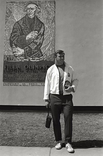 Al Oerter, Olympic Village in Mexico City, 1968