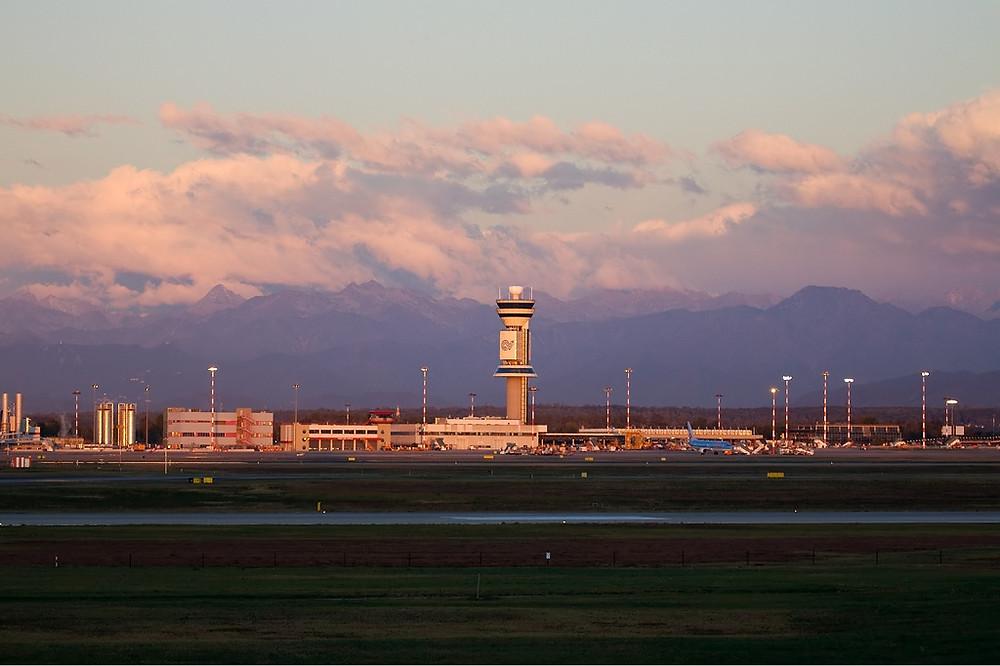 Milan Malpensa Airport, Italy