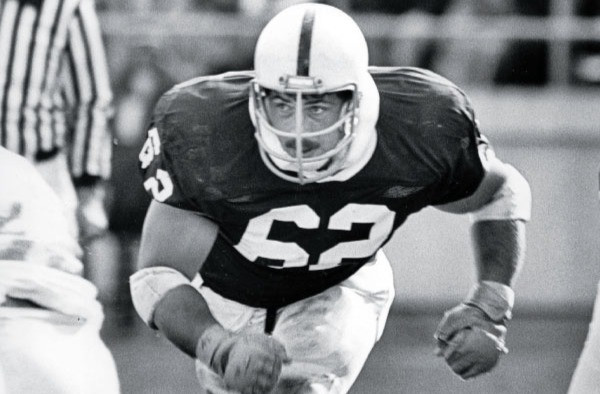 Sean Farrell, #62, among the most decorated lineman in PSU history