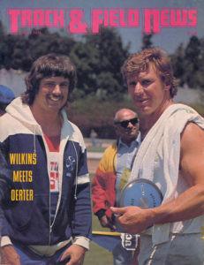 Mac Wilkins & Al Oerter first competition 1978