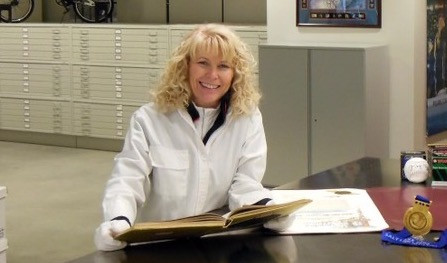 Teri Hedgpeth, former Archives and Collections Curator at the U.S. Olympic & Paralympic Committee